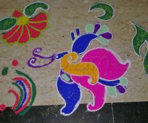 Rangoli: Navratri - Day 2