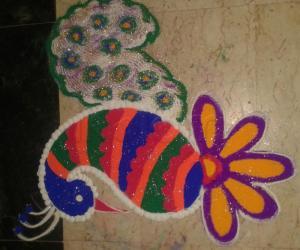 Rangoli: Navratri - Day 8