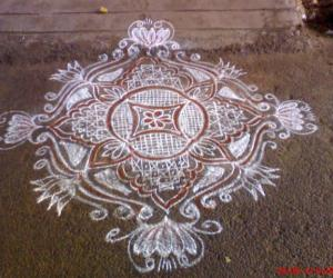 My friday rangoli