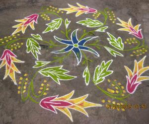 Rangoli: HAPPY NEW YEAR TO ALL FRIENDS