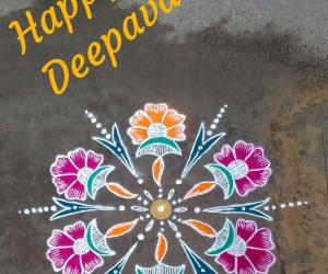 Rangoli: Happy Deepavali