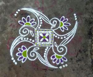 Rangoli: Margazhi