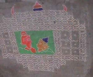Rangoli: Ramanavami Kolam