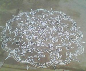Rangoli: Sriramanavami special