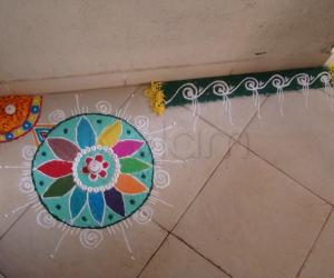 Rangoli: Dassera Rangoli