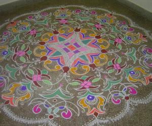 Diwali Rangoli Design 2014