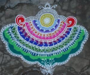 Rangoli: Designer Rangoli