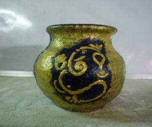 Rangoli: pot craft