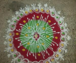 Dhanurmasa-morning rangoli