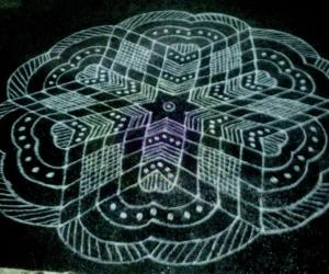 Dotted kolam TNPSC exam special wishes to all.