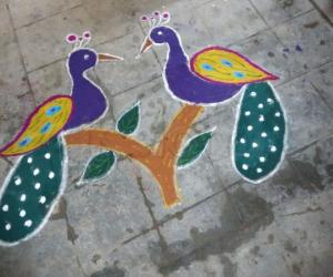 Rangoli: Happy New Year