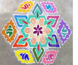 Rangoli: MARGAZHI KOLAM 09.1.2013