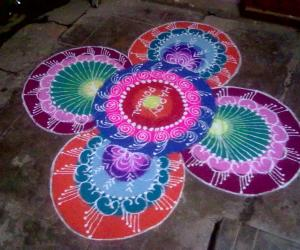 Rangoli: rangoli pongal_2013