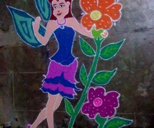 Rangoli: Rangoli_fairy