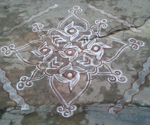 Ramanavami rangoli