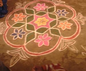 Colour Kolam
