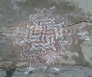 chikku Kolam