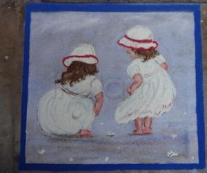 Babies rangoli