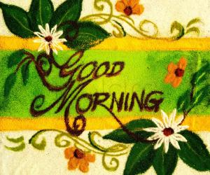 good morig wishes