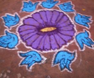 Rangoli: RAJALAKSHMI KOLANGAL