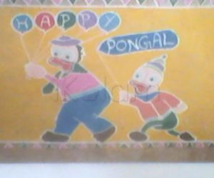 Rangoli: cartoon rangoli