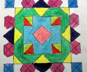 Rangoli from my art book