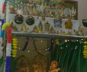 traditional and hand made golu