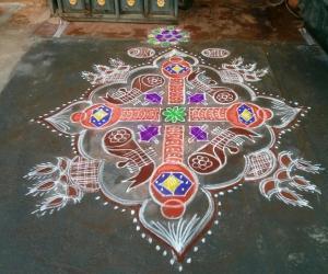 Rangoli: instrument rangoli