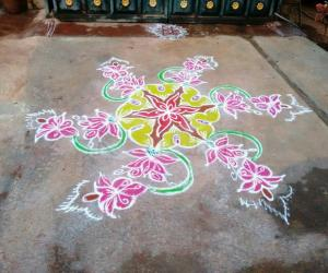 Rangoli: Marghazli Rangoli