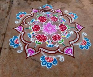 Rangoli: Marghazi Rangoli