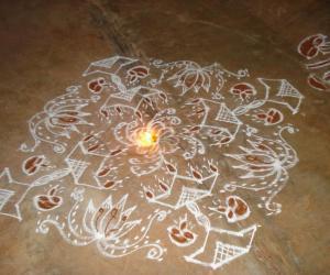 Rangoli: FRIDAY RANGOLI.