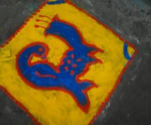Rangoli: marghali 5