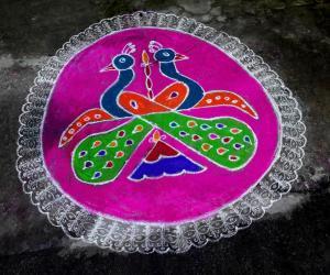 Rangoli: MARGAZHI KOLAM  11-01-2017