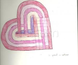 Rangoli: Hearts inside heart