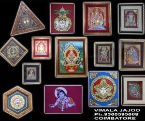 my tanjore paintings