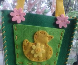 Handstiched Duck bag