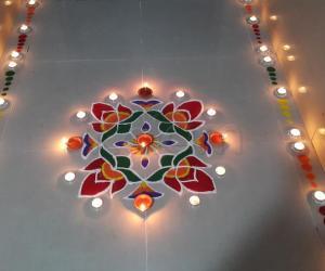 2016 Diwali Rangoli