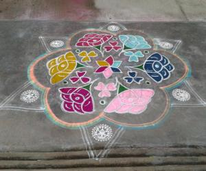 Rangoli: Mother's day
