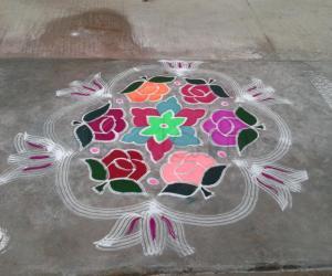 Garden of Roses celebrating Pongal.....