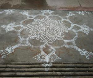 Inspirational Kolam 7