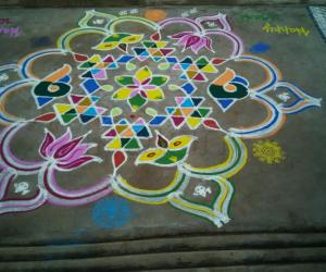 Rangoli: Happy Ugadi