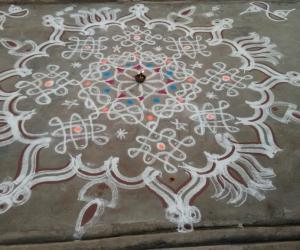 Rangoli: Aadi Day-1