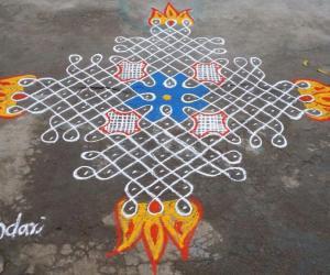 Rangoli: Panguni SPL kolam