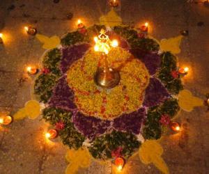 Rangoli: Deepam karthigai special