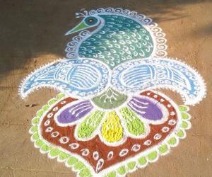 Rangoli: deepam special