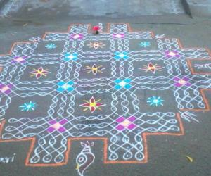 Rangoli: Happy new year 2015