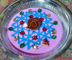 Aarti plate day 3
