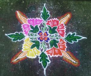 Rangoli: margazhi kolangal
