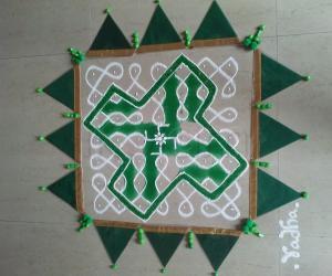 2021Margazhi Kolams 15Day