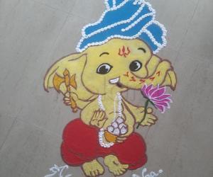 SriGanesha Chathurthi 2021Rangoli